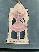 LENOX 1992 SUGAR PLUM FAIRY NUTCRACKER Series Ornament NEW In Box Christmas