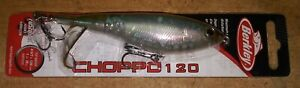 Berkley Choppo 120 Topwater 4 5/7 in. 1 oz. Fishing Lure  (Perfect Ghost) NIP