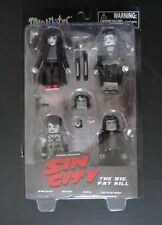 NEW ~SIN CITY~MINIMATES~THE BIG FAT KILL~DWIGHT~MIHO~GAIL~JACKIE~BOX SET~4 PACK