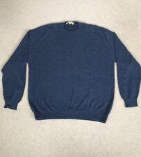 Men's Cashmere Jumper Aquascutum Size M Dark Blue