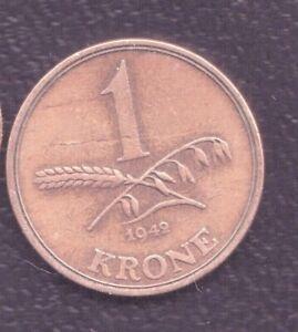 DENMARK  1 KRONER 1942