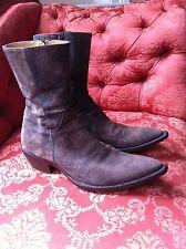 Stunning Gianni Barbato Boots Grey Suede 43.5