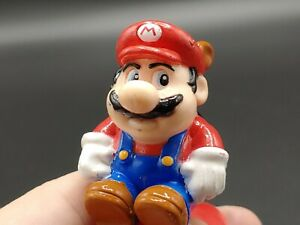 """Retro 1989 Nintendo Super Mario Brothers Figure Spring Pop Up Toy Racoon Tail 3"""""""