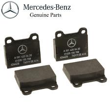 ORIGINAL Mercedes 250S 350SD 350SL 280C 220D 240D 300D 560SEL Rear Brake Pad Set
