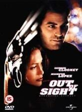 OUT OF SIGHT starring George Clooney, Jennifer Lopez - DISC ONLY {DVD}