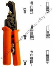 Compression RG6/59 Crimper/Crimping Tool for Waterproof BNC,RCA,TV F crimp ends