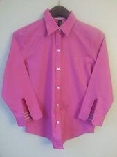 NWT Ralph Lauren 100% Cotton Womans Classic Pink Blouse Shirt Top Retail $129.99