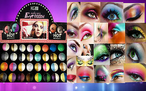 KRAZY GIRL DUO COLOUR BRIGHT EYESHADOW HIGHLY PIGMENTED COLOURS **CHOOSE SHADE**