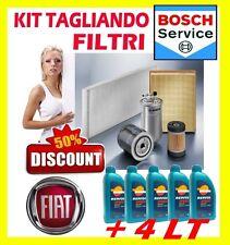 KIT TAGLIANDO 3 FILTRI FIAT GRANDE PUNTO 1.2 48KW + 4LT OLIO REPSOL SPEED 10W40