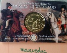 manueduc   BELGICA  2015 2,5 Euros BATALLA DE WATERLOO  COINCARD Nuevo