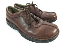 Merrell Men's World Summit Dark Brown Oxford Leather Shoes Size 11 In EUC