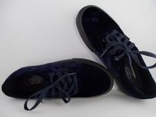 VANS Authentic Velvet Navy/Black Skateboarding Shoes Men's Size 5 New In Box