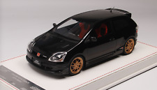 1/18 NYX Mugen Honda Civic Type R EP3 from 2004 in Gloss Black Leather base