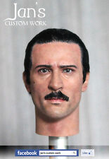 1/6 Hot CUSTOM REPAINT REHAIR robert de niro Godfather II toys figure head DID