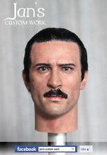 1/6 Hot CUSTOM REPAINT REHAIR robert de niro Godfather II toys figure head DID