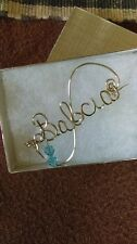 BABCIA  Wire Name Pin  Handmade - Any Name Personalized Spanish Grandmother
