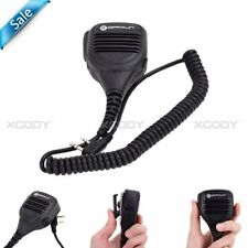 Shoulder Speaker Mic 2Pin Microphone For KENWOOD Baofeng BF-888s UV-5R Radios