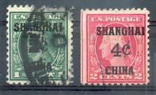 USA CHINA  1922 17-118 gest 200€(A5242