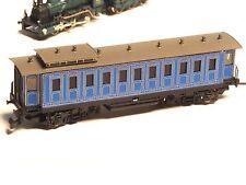 """King Ludwig II Powered Z-scale RAILEX motorized """"ghost"""" car in Brass"""