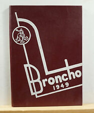 1949 Wauneta High School Yearbook - The Broncho - Nebraska NE Wauneta-Palisade