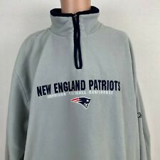 Reebok New England Patriots Embroidered Pullover Fleece Sweatshirt NFL Size XL