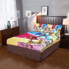 New Duvet Cover Pillowcase Custom Sonic The Hedgehog 3-Pieces Bedding Set