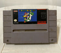 Super Nintendo SNES Super Mario World Game Cartridge