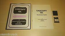 Tascopy Ql-Tasmania Software-Microdrive-Vgc-Sinclair QL 1985-Probado