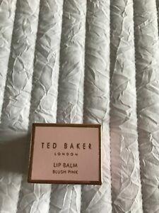 New Ted Baker Lip Balm 9g OPULENT PETAL BLUSH PINK