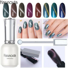Harunouta 12ml Magnetic Gel Polish Top Base Coat Magnet Stick Nail Art Kits