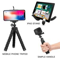 Flexible Octopus Adjustable Tripod Stand Phone Holder for iPhone Camera Bracket
