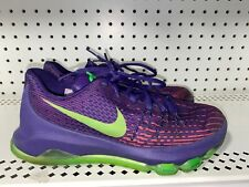 Nike KD 8 Suit GS Boys Youth Basketball Shoes Size 5Y Purple Volt