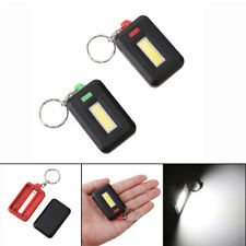 Mini LED COB Flashlight Waterproof Portable Keychain Torch Light Camping Lamp FO
