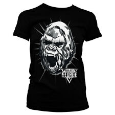 Officially Licensed Rampage - Subject George Women's T-Shirt S-XXL Sizes (Black)