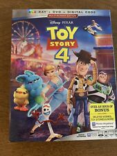 Toy Story 4 (Blu-ray, DVD, 2019, 3Disc) No Digital