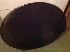 Sonderanfertigung Rauchglas Tisch Platte, braun, rund, 90 Durchmesser x1 cm dick