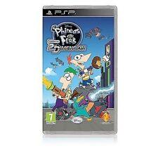 JUEGO PSP Disneys Phineas & Y FERB 3 TRANSVERSAL a través de 2. Dimensión NUEVO