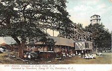 c.1905 Russian Toboggan Rocky Point RI post card Roller Coaster Amusement Park