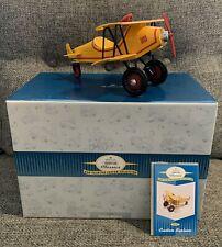 Hallmark Kiddie Car Classic Custom Biplane 1930 Spirit of Christmas Don Palmiter