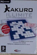 KAKURO ILLIMITE - jeu PC