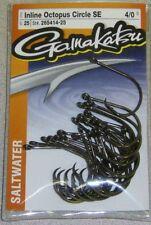 GAMAKATSU SALTWATER INLINE OCTOPUS CIRCLE SE HOOK 265414-25  #4/0