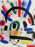 MIRO - LITHOGRAPH III VOL. I - ORIGINAL LITHOGRAPH - 1972 - FREE SHIP IN THE US