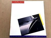 1986 Chevrolet Cavalier 24-page Original Sales Brochure Catalog - Z24 Chevy