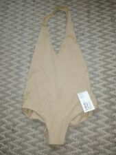 American Apparel nude halterneck bodysuit M RRP £25
