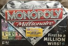 MONOPOLY MILLIONAIRE 2012 Board Game BRAND NEW! Sealed And Unopened! MINT!