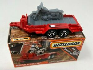 Matchbox MBX CYCLE TRAILER Mint in Box