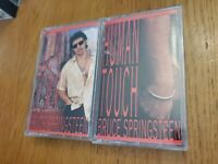 lot of 2 Bruce Springsteen Cassettes-lucky town & human touch