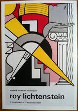 Roy Lichtenstein 1967 Stedelijk Museum Amsterdam Pop Art Poster           P:69