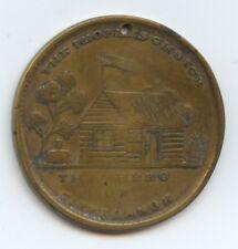 Exonumia Maj. General Wh Harrison (#8318) Scarcer Political Medal. He Redeems