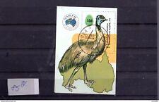 Block 85 Briefmarkenausstellung Ausipex 84 Melbourne Vogel